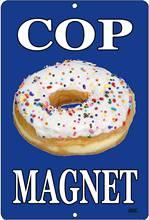 Rogue river Тактический Забавный полицейский магнит пончик металлический