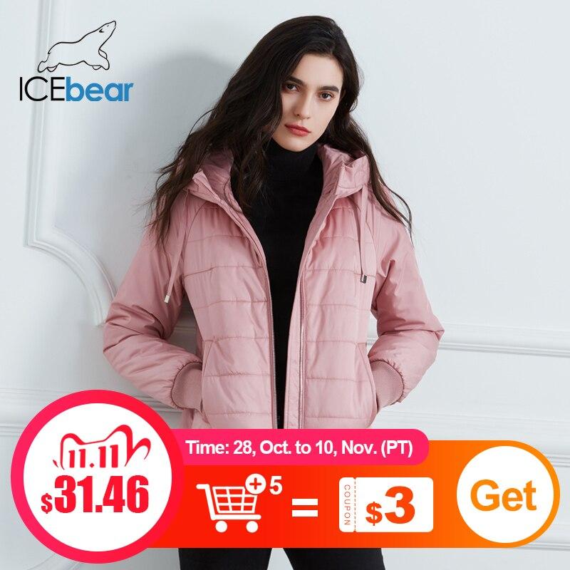 ICEbear 2020 Новые женские весенние пальто высокого качества Марка одежды Полупальто с Hat Модная женская одежда GWC20070D|Парки| | АлиЭкспресс
