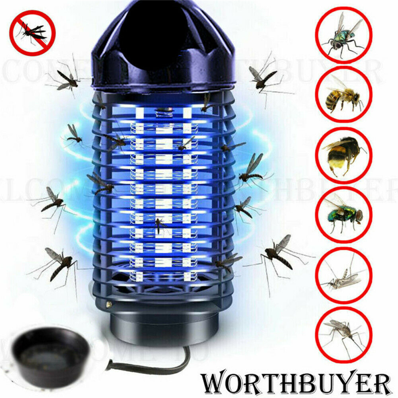 Electric Mosquito Killer Lamp Electronics Anti Mosquito Trap LED Night Light Lamp Bug Insect Killer Lights Pest Repeller Lights