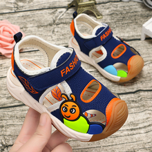 2020 summer kids shoes brand closed toe toddler boys sandals orthopedic sport pu leather baby boys sandals shoes B011 сандалии bos baby orthopedic shoes bos baby orthopedic shoes mp002xg00jc2