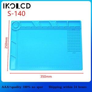 Image 4 - Isı yalıtımlı silikon yastık sümen bakım platformu tornavida cep telefonu için pc bilgisayar BGA lehimleme onarım aracı