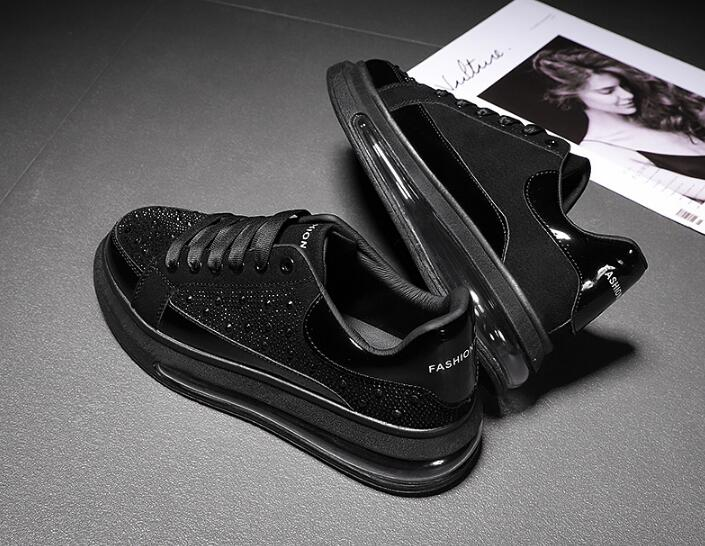 antiderrapante esportes tênis casuais sapatos de caminhada conforto de ar macio tênis