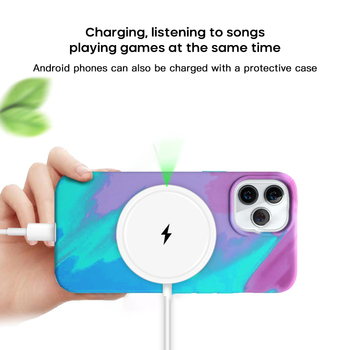 15W Wireless Car Charger Mount Magnet Adsorbable Phone Car Holder For Iphone 12 Mini Pro Pro Max Fast Wireless Charging image