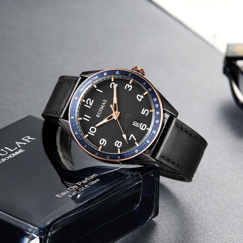 Genuine Remas Men's Watch Automatic Mechanical Watch Business Men's Waterproof Hollow Fashion Watch Trend Watch