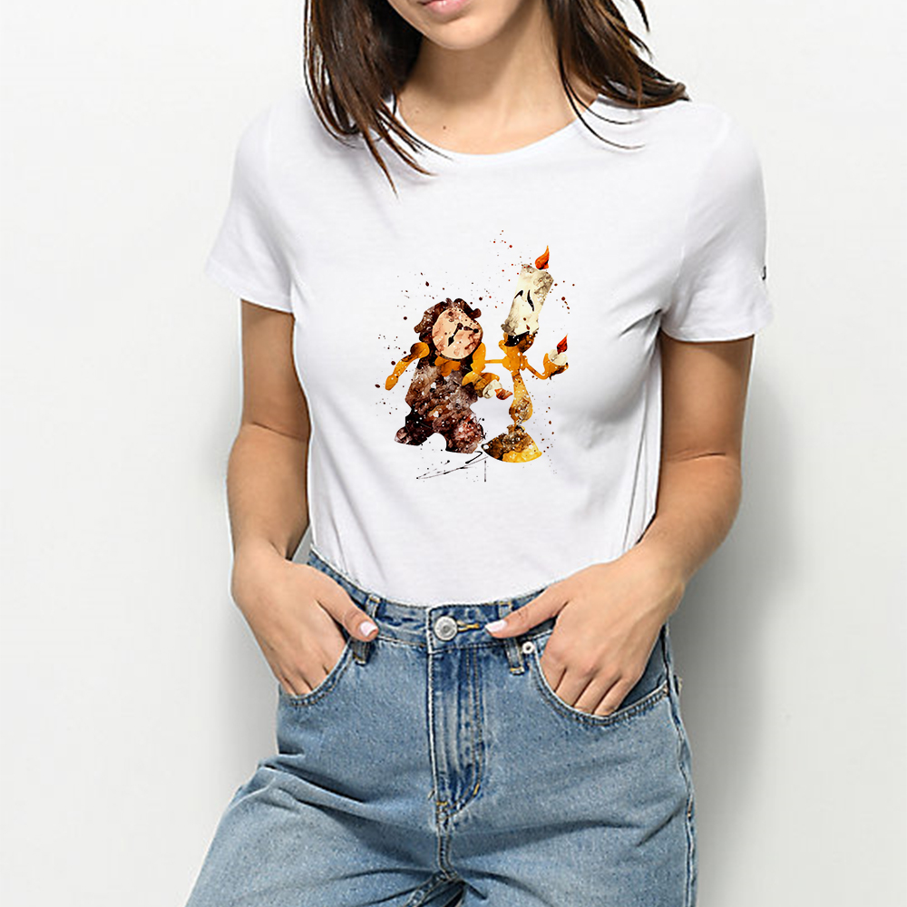 Funny Graphic Princess Prince Ball Summer Tshirt Harajuku Hipster Kawaii T-shirt Cute Cartoon Vintage Vogue Color T Shirt