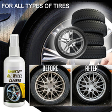 Car Tires All Wheel Cleaner Car Bicycle Motorcycle Universal Wheel Self-Cleaning Detergent Car Assessory Rim Cleaning Rim Care