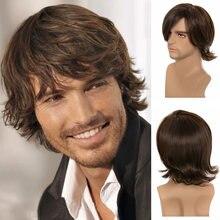 Парик your beauty hair 14 дюймов модный парик темно коричневого