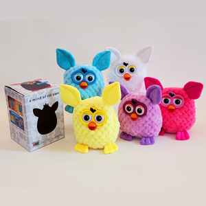 Image 1 - 15cm Electronic Pets Furbiness Talking Phoebe Interactive Pet Owl Electronic Recording Children Christmas Gift Action Figure Toy