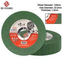 2-50 pces 125mm metal disco de corte ângulo moedor de aço inoxidável moagem corte resina dupla malha ultra-fino polimento peça