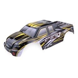 Dla ZD Racing 9116 08427 1/8 2.4G 4WD bezszczotkowy Rc samochód szary kolor korpus Shell części zamienne w Części i akcesoria od Zabawki i hobby na