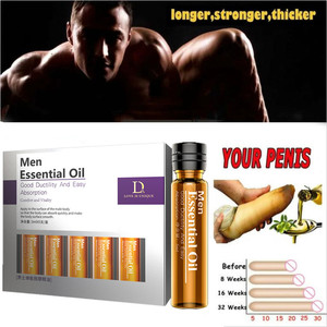 Natural Plant Extracts Penis Enlargement Pills Delay Cream Lubricant for Men Increase Big Dick Growth Thickening Essential Oil