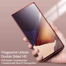 Vetro temperato HD a doppia faccia per Samsung Galaxy S20 S20FE S20Plus S20Ultra 360 cover completa con cover magnetica per telefono