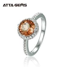 Zultanite султанит изменение цвета כסף טבעת נשים אופנה 2.3 קראט נוצר Diaspore S925 נישואים צבע שינוי אבן