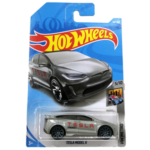 Image 5 - Hot Wheels 1:64 Car TESLA MODEL 3  S  X  Collector Edition Metal Diecast Model Cars Kids Toys Gift