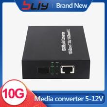 10G media konverter SFP zu RJ45 10GBase TX und 10GBase FX media konverter ohne SFP modul