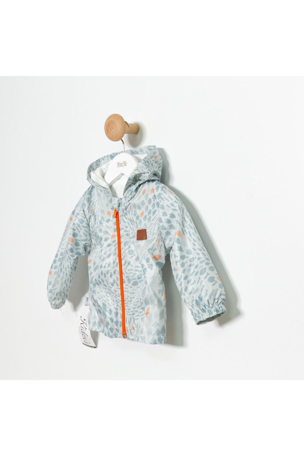 Fish Patterned Raincoat 3 Pcs Suit MZ018