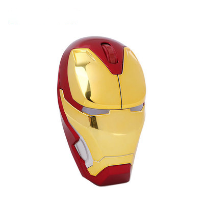 Iron Man Mouse Wireless Gaming Mouse Silent Gamer Computer Mice  800/1200/1600/2000DPI Adjustable For Laptop/PC/MAC/Computer