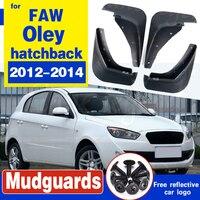 Speciale Spatbord Auto Spatbord Spatlappen  Voor Faw Oley Hatchback 2012-2014  hoge Kwaliteit Originele Productie Gratis Verzending