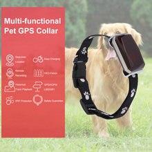 Collar impermeable IP67 para mascotas GSM AGPS, Wifi, LBS, Mini rastreador GPS ligero para mascotas, perros, gatos, ganado, localizador de seguimiento de ovejas