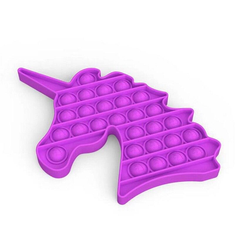 Fidget-Toys Autism Toy Pop-It-Stress Funny Push-Bubble Relief Sensory Adult Children img4