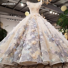 LS09932 כדור שמלה נפוחה שמלת o צוואר שווי שרוול חזור צד רצועות נפוח חצאית שמלת ערב סין באינטרנט סיטונאי 2018