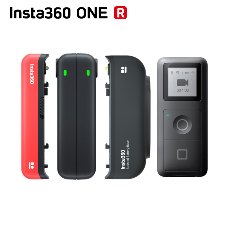 Original Insta360 ONE R ONE X GPS Smart Remote Control   Battery Base Fast Charge Hub  Boosted Battery Base For Insta360 R All