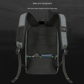 Solar Backpack Men and Women Charging Casual Outdoor Bag USB Charger Emergency Backpack 5