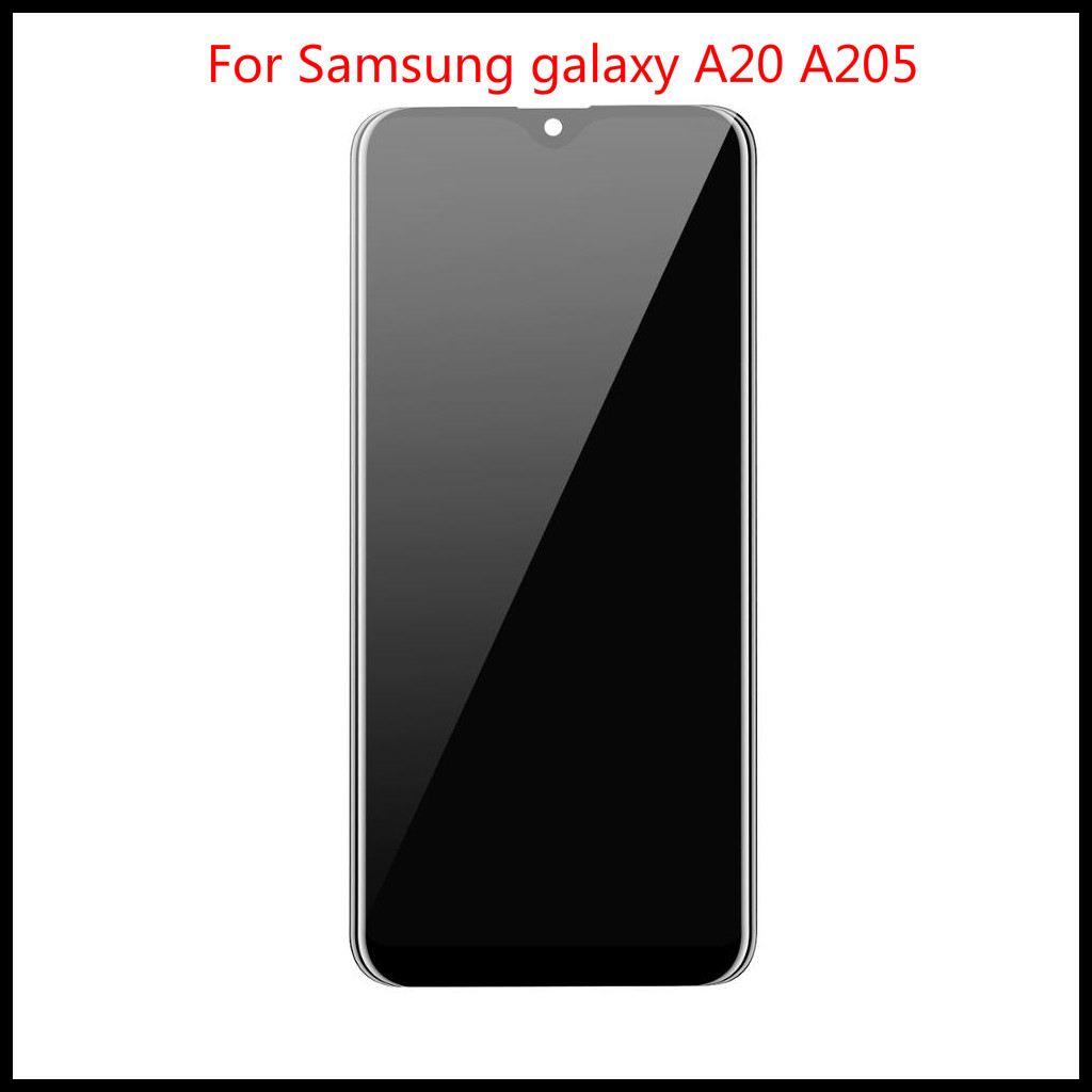 AAA+++ Top quality For <font><b>Samsung</b></font> <font><b>galaxy</b></font> <font><b>A20</b></font> A205F/DS A205F A205FD A205A <font><b>lcd</b></font> Display Touch <font><b>Screen</b></font> Digitizer Assembly Free Tools image