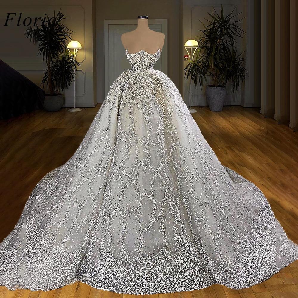 Luxus Transparent Hochzeit Kleid 19 Türkische Vestido De Noiva