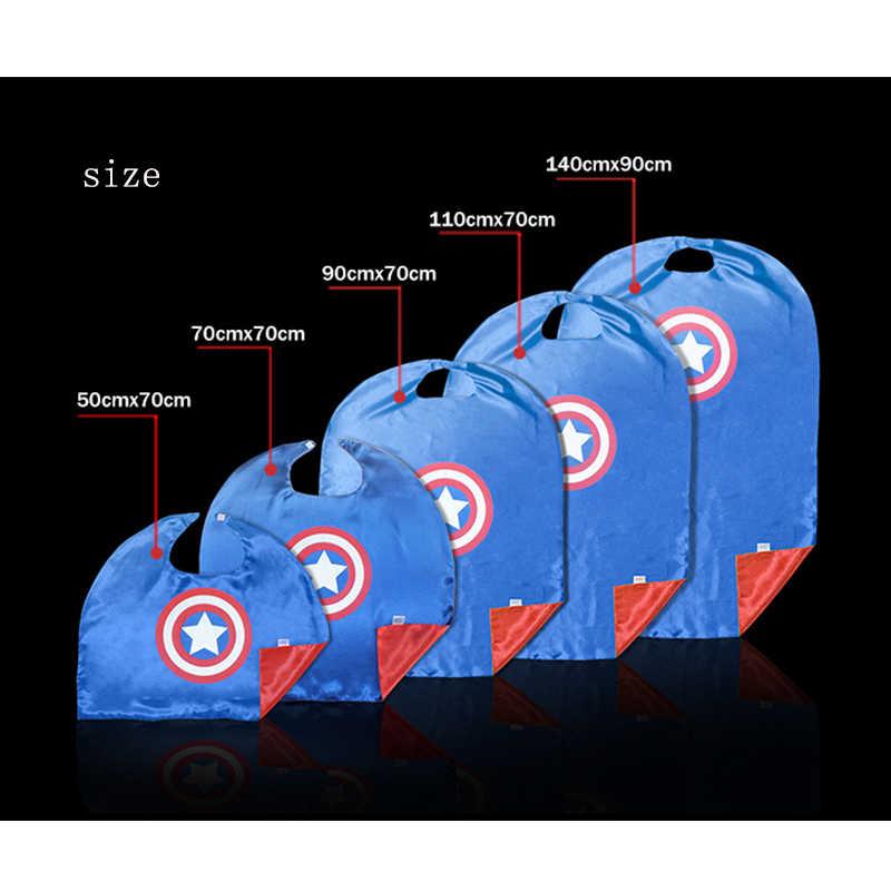マーベルアベンジャーズグローブスーパーヒーローコスプレマント岬ショールキャプテンアメリカスパイダーマントールハルク玩具アイマスク