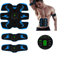 цена Muscle Stimulator Abdominal Muscle Trainer Exerciser Arm Leg Belly Abdominal Muscle Stimulator Body Shaper Fitness Massager онлайн в 2017 году