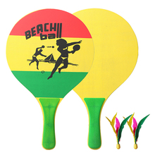 Badminton-Racket Table-Tennis Wood for Indoor And Poplar of Seven-Layers Fun Creative