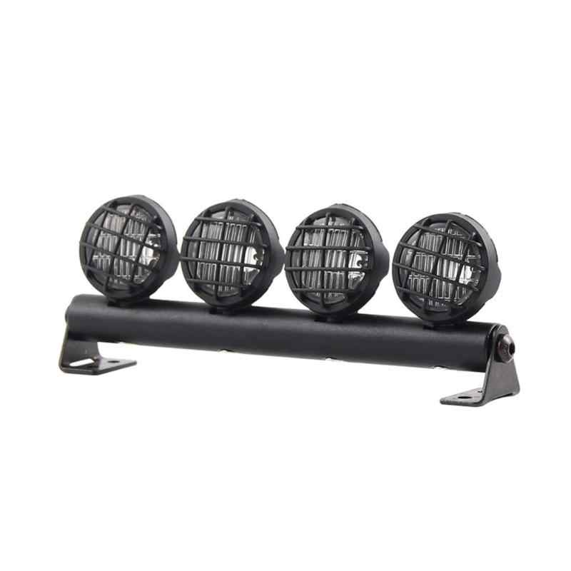 4pcs Led Spotlight Roof Light Lampshade For 1//10 RC Crawler Car Axial Scx10 KY