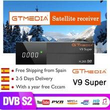 GTMedia V8 Nova Full HD DVB-S2 Satellite Receiver 1 Year Europe Cline 7 line Same Freesat V9 Super Upgrade From Freesat V8 Super