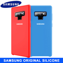 Samsung Note 9 Case Original Official Soft Silicone Protector Galaxy 8 10 Pro Silicon Cover
