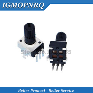 10PCS RV09 B10K B103 Potentiometer Adjustable Resistance 12.5mm Shaft 3 Pins 0932 Vertical adjustable trim pot WH09