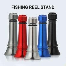 Bassland New Fishing Reel Stand For SHIMANO DAIWA Spinning Reel Anti collision Aluminum Fishing Tool