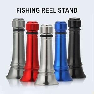 Image 1 - Bassland New Fishing Reel Stand For SHIMANO DAIWA Spinning Reel Anti collision Aluminum Fishing Tool