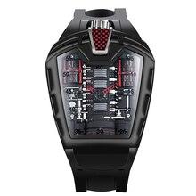 Top Brand Luxury Watches Men's Fashion Black Watch