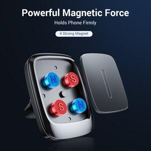 Image 4 - FIVI voiture support de téléphone magnétique pour téléphone portable évent aimant support de téléphone pour Iphone 11 11 Pro Max Xr support de voiture