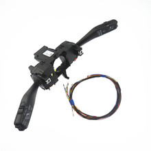 цена на 1Set Steering Wheel Turn Signal Cruise Combination Switch Control Stack & Cable for polo 6RA953513G 6RA 953 513G 6RA 953 513 G