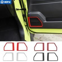 MOPAI Ca Aufkleber für Suzuki Jimny JB74 Auto Interor Tür Lautsprecher Dekoration Abdeckung Zubehör für Suzuki Jimny 2019 +
