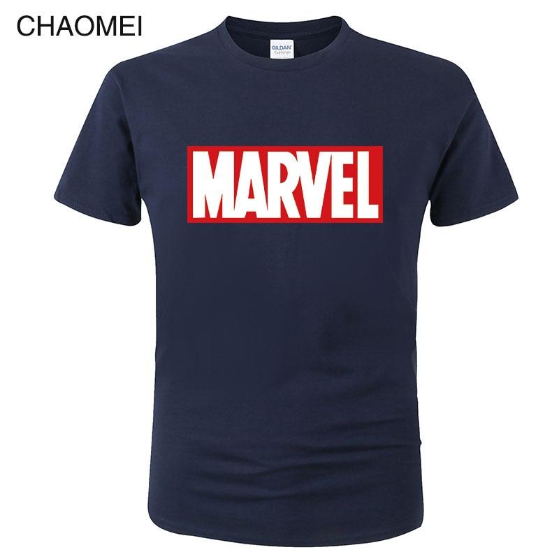 MARVEL T-Shirt 2019 New Fashion Men Cotton Short Sleeves Casual Male Tshirt Marvel T Shirts Men Women Tops Cool Tees C117