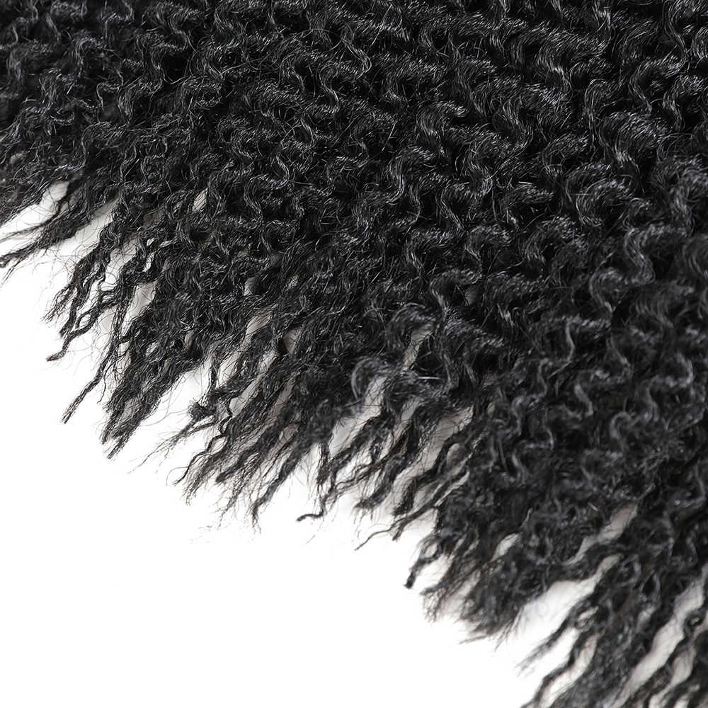 الاصطناعية Freetress المياه موجة الكروشيه تجديل الشعر قبل حلقة جزيرة التقلبات تفكك الضفائر X-TRESS الشعر 16 بوصة 3 قطع