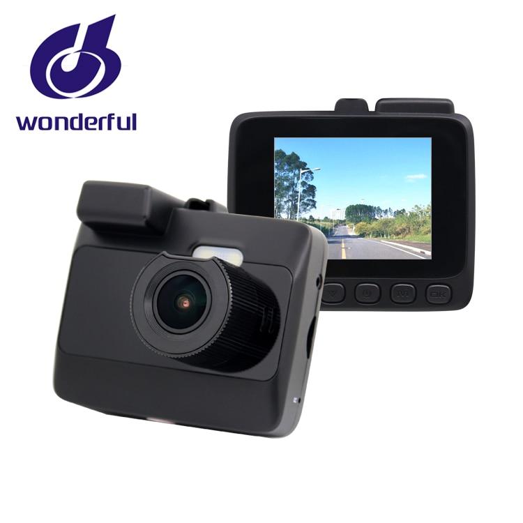 4 K high vision car black box 2 inch dual camera recorder with G-sensor and GPS