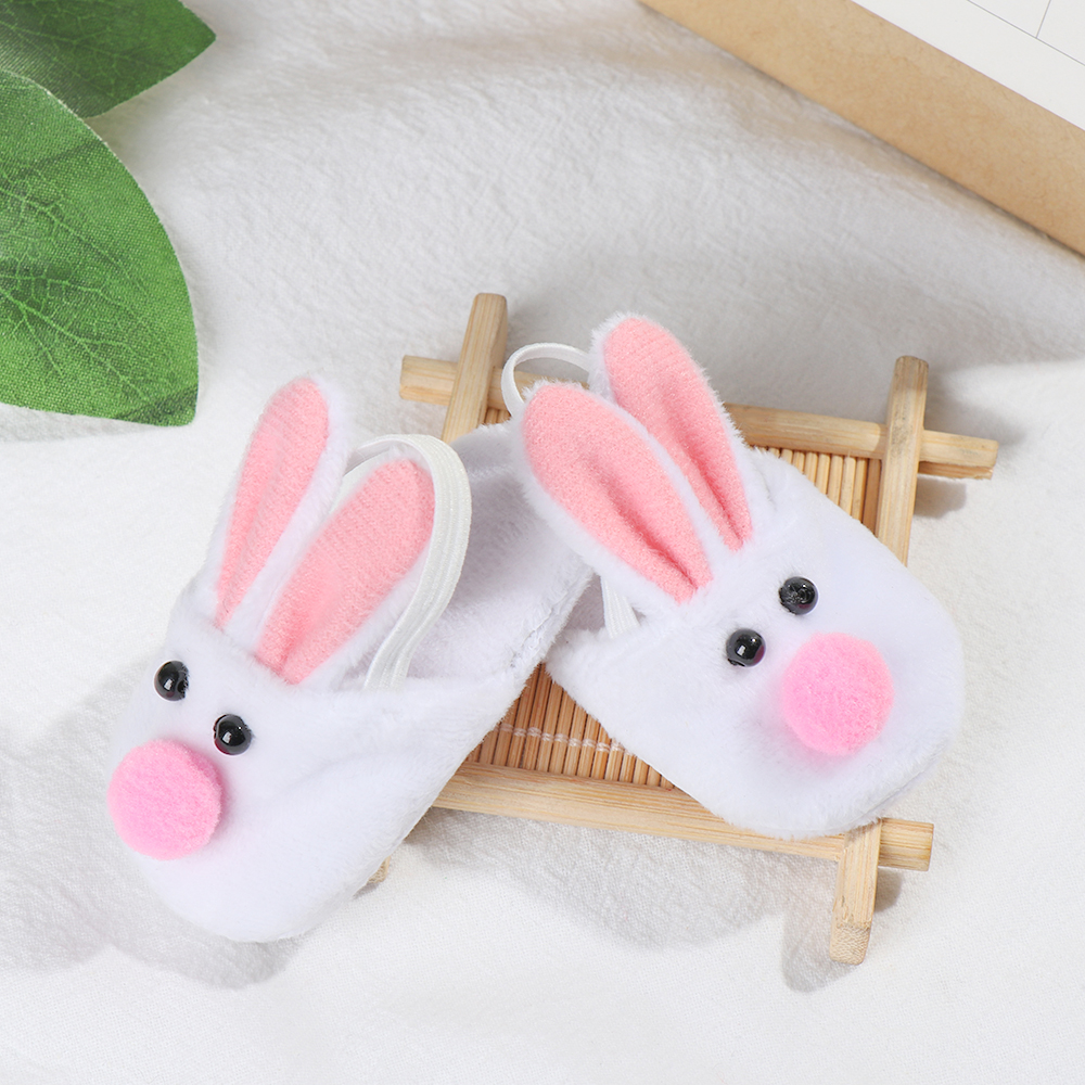 Doll Girl Shoes Animal Plush Felt Slippers Baby Born Dolls Clothing Accessories