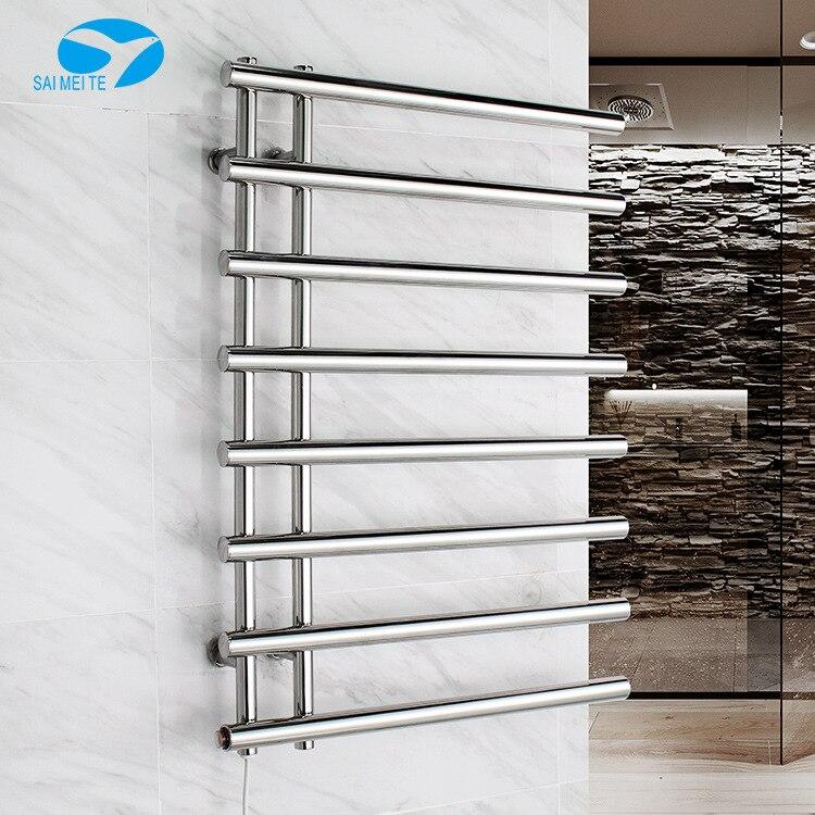 Elegant Beauty Manufacturers Wholesale 304 Stainless Steel Electric Heated Towel Rail Bathroom Hardware Pendant Sanitary Ware Li