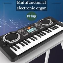 Детское электрическое фортепиано 37 клавиш музыка электронная