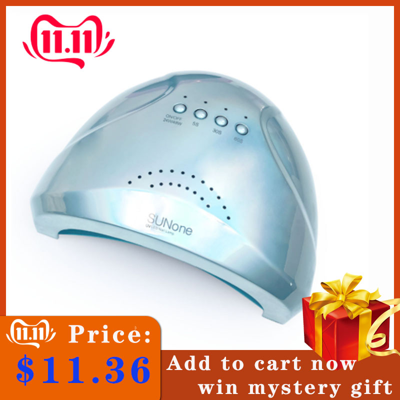 48W New SUNone Nail Phototherapy Machine Quick-drying UV Nail Phototherapy Lamp LED Nail Dryer UV LED With Sensor Nail Art Tool