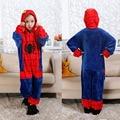 Детские пижамные комплекты кигуруми в виде единорога для мальчиков зимние комбинезоны пижамы фланелевые теплые пижамы Аниме Косплей Костю...